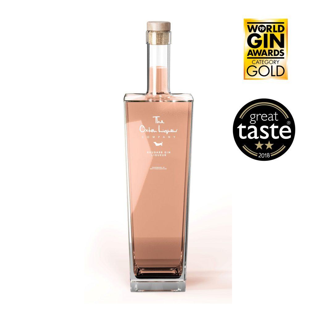 The Oxton Liqueur Company's Rhubarb Gin