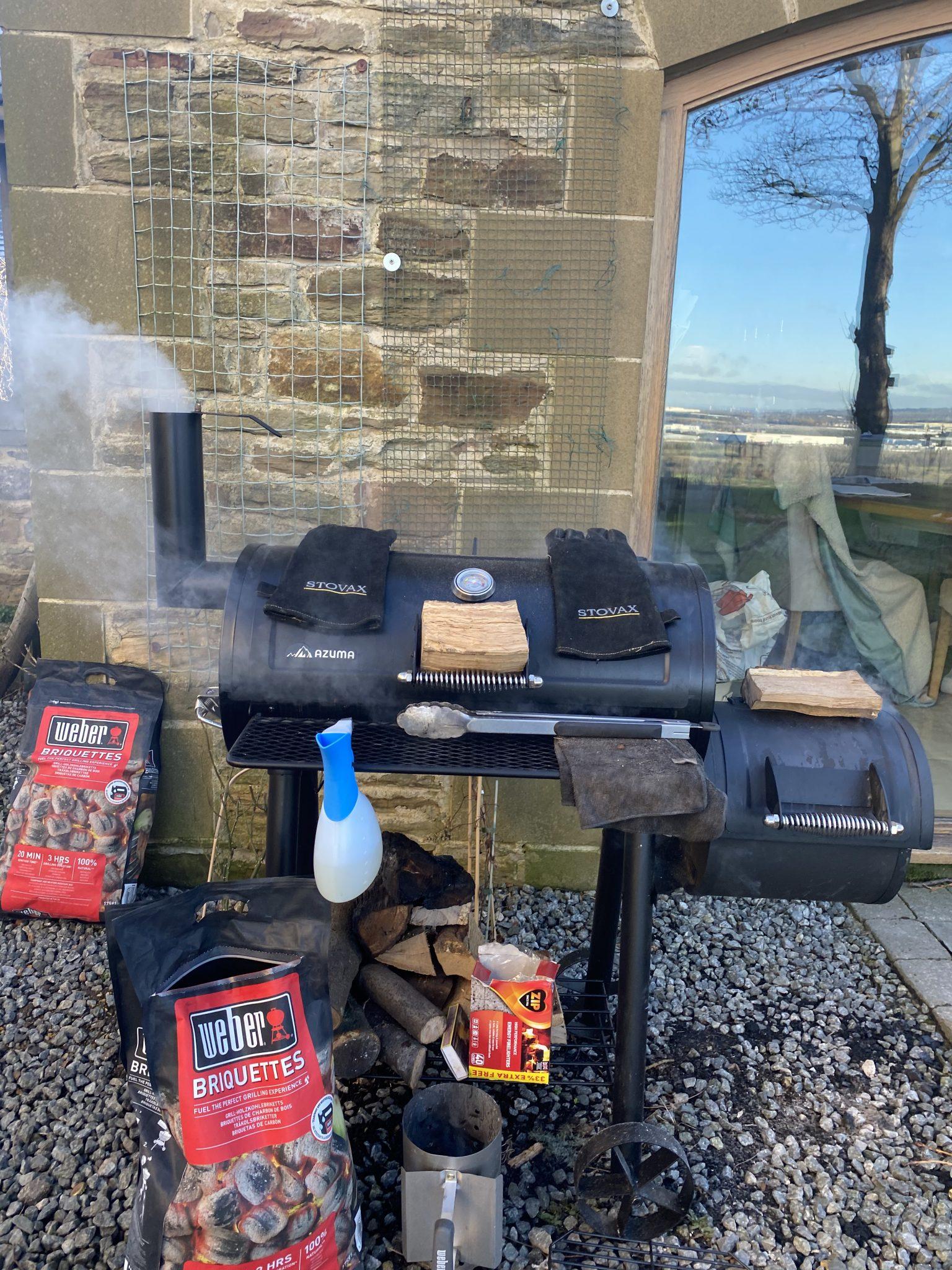 BBQ and Briquettes